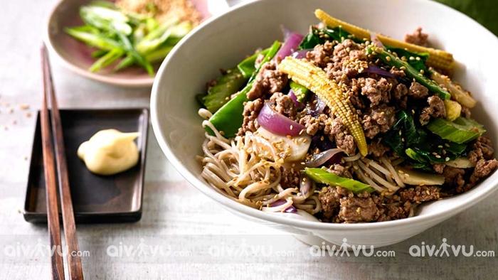 Mì xào thịt cừu món ăn có hương vị tuyệt nhất tại Brunei