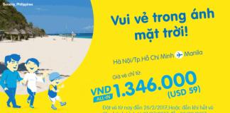 Đón hè thật rộn ràng với vé Cebu Pacific chỉ từ 59 USD đi Boracay