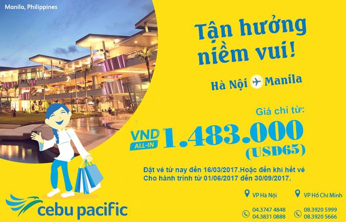 Bay ngay không phải nghĩ với vé Cebu Pacific chỉ từ 65 USD