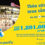 Cebu Pacific khuyến mãi giá vé chỉ từ 79 USD bay Hà nội