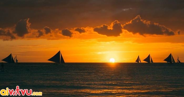 Nếu bạn muốn có bức ảnh sống động như này hãy đến Boracay ngay