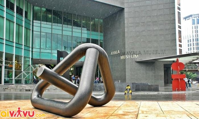 Bảo tàng Ayala có kiến trúc tuyệt vời