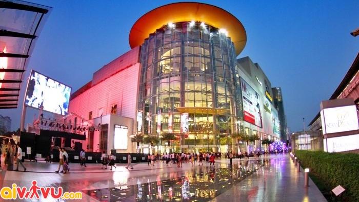 Khu mua sắm Siam Paragon hiện đại