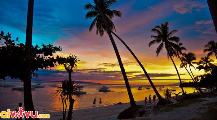 Đảo Bohol nổi tiếng là điểm ngắm mặt trời lặn siêu đẹp