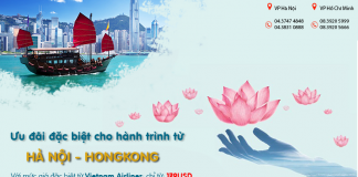 Du hí Hongkong cực dễ dàng với KM giá vé chỉ từ 179 USD