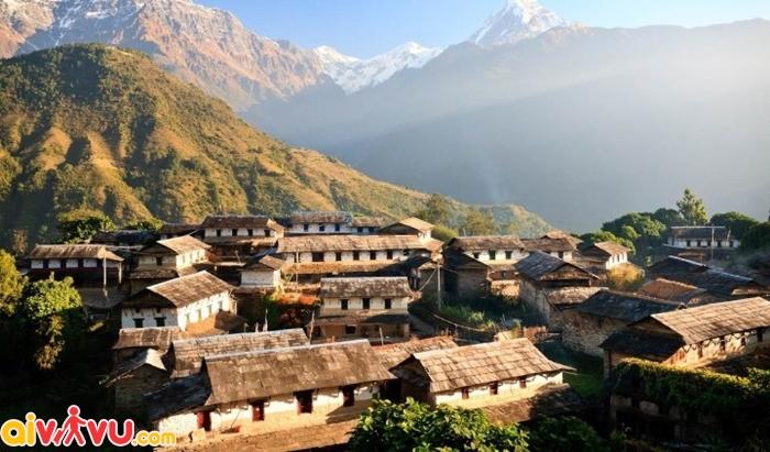 Nepal cũng là 1 nước có chính sách visa cởi mở