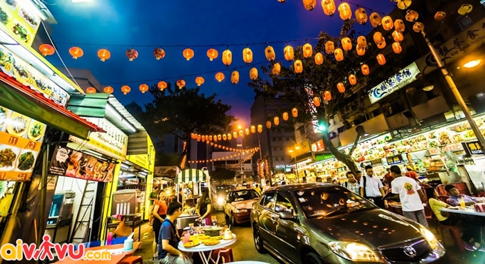Khu phố ẩm thực Bukit Bintang