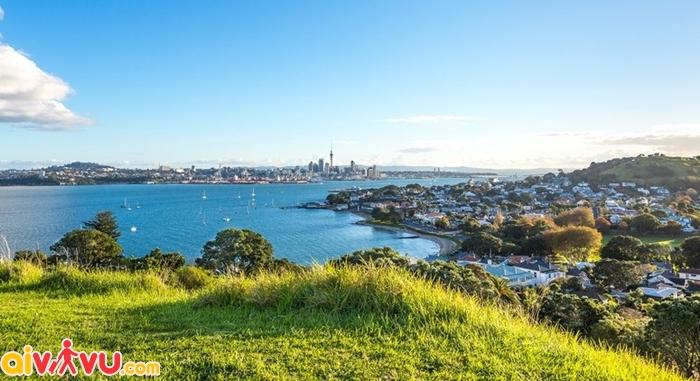Auckland được coi là một thành phố cảng trong mơ của New Zealand