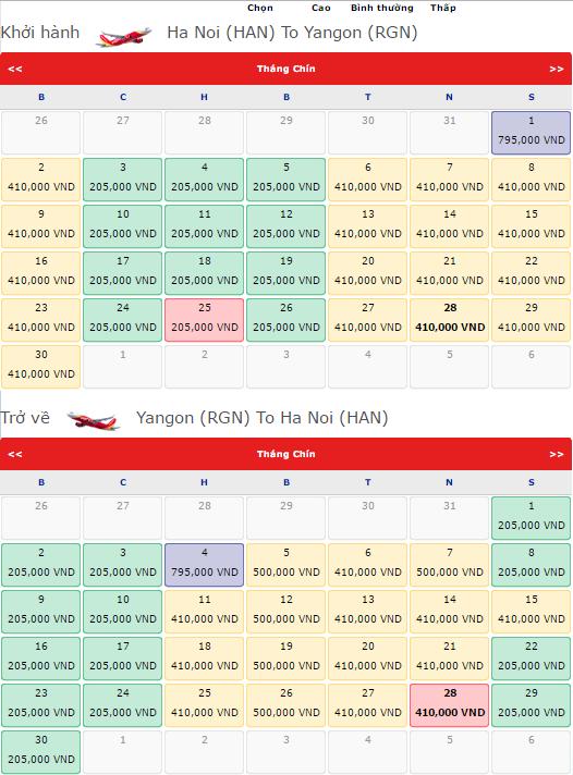 Cách săn vé máy bay đi Yangon KM chỉ từ 205 000đ