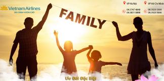giảm 20% giá vé mừng ngày gia đình Việt nam