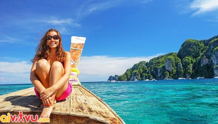 Thái lan sở hữu vô số biển đảo đẹp tựa thiên đường