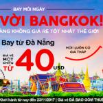 Khởi hành đi Bangkok từ Đà nẵng giá chỉ từ 40 USD vé Air Asia