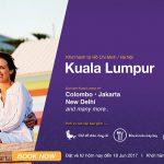 Chộp vé siêu rẻ chỉ từ 57 USD, bay thật xa cùng Malindo Air