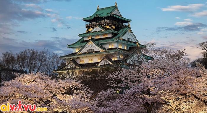 Lâu đài Osaka Nhật Bản