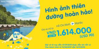 Cebu Pacific mở bán vé rẻ đi Manila, giá chỉ từ 70 USD