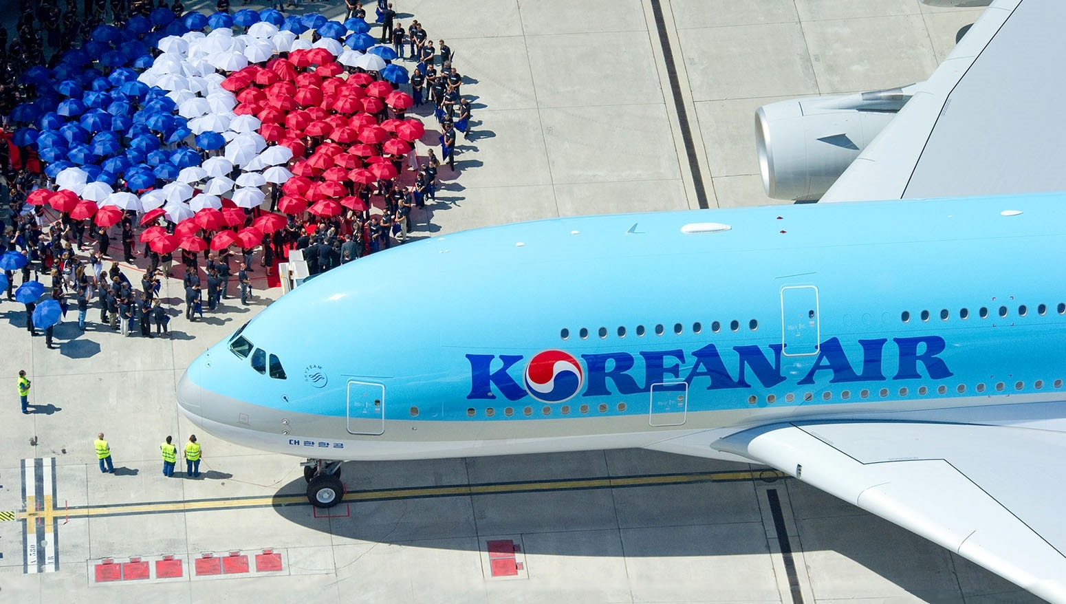 Mạng lưới của hãng hàng không Korean rất lớn