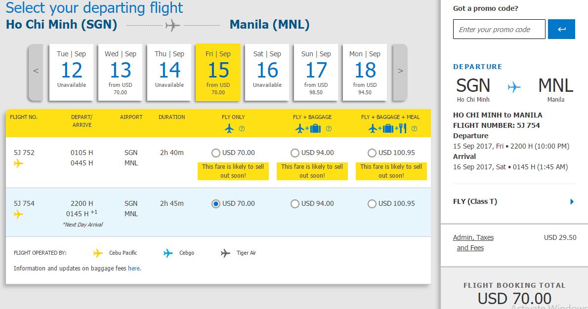 Vui đùa trong nắng từ HCM đi Manila chỉ từ 70 USD