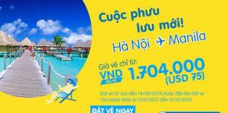 Đặt vé liền tay, bay ngay với Cebu Pacific, giá chỉ từ 70 USD