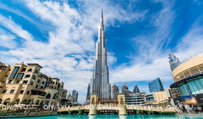 Burj Khalifa đại cao ốc tại Dubai