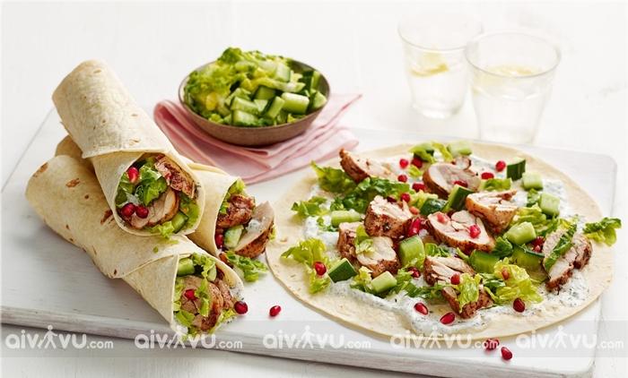 Shawarma bánh mì đặc biệt nổi tiếng của Abu Dhabi