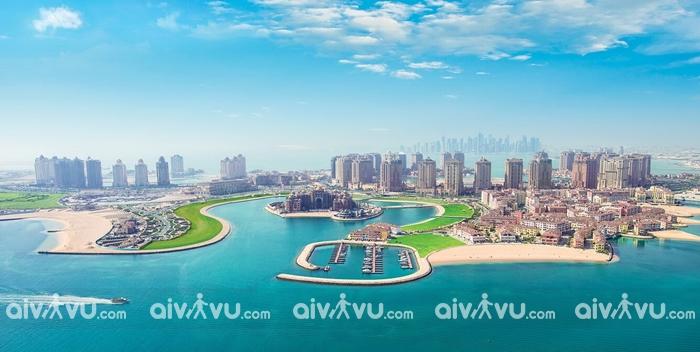 Thăm đảo The Pearl Qatar