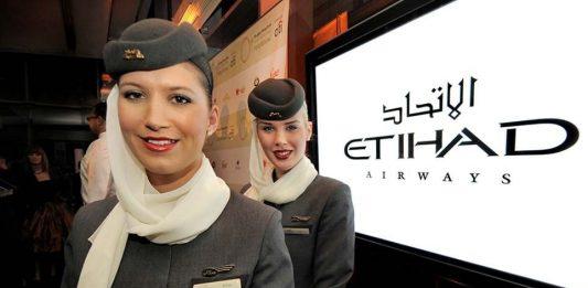 Hãng hàng không Etihad Airways EY