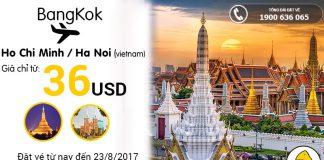 Siêu rẻ vé Nok Air chỉ từ 36 USD/chiều đi Thái Lan thật phiêu