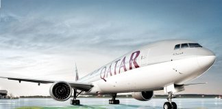 Hãng hàng không Qatar Airways QR