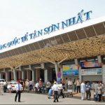 Khởi hành từ sân bay Tân Sơn Nhất