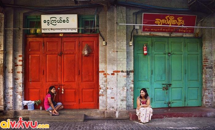 Cuộc sống thường ngày ở Yangon
