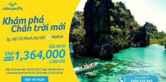vé bay ưu đãi chỉ từ 60 USD đi Manila