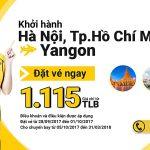Khám phá Yangon cùng vé Nok Air chỉ từ 34 USD/ 1 chiều