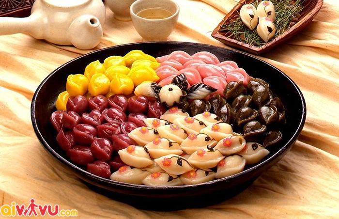 Bánh Trung thu Songpyeon Hàn Quốc