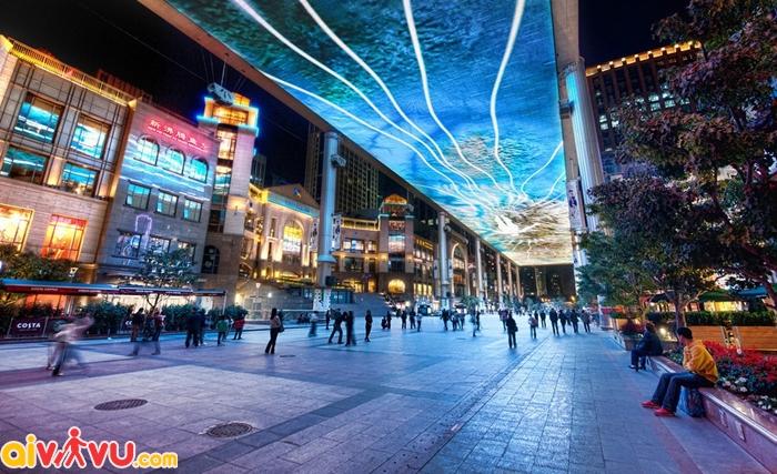 The Place là địa điểm mua sắm hàng đầu Bắc kinh