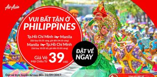 Sài Gòn đi Philippines với giá vô cùng hấp dẫn, chỉ từ 39 USD