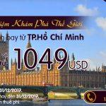 vé máy bay Etihad chỉ từ 1049 USD
