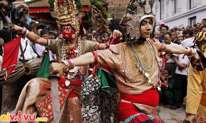 Dashain - Lễ hội tôn vinh nữ thần ở Nepal