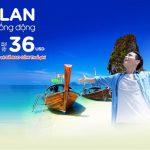 Đi Thái Lan bay Air Asia, giá rẻ như mơ chỉ từ 36 USD