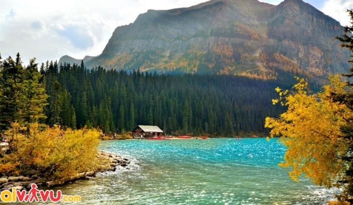 Vẻ đẹp của mùa thu ở nước Mỹ