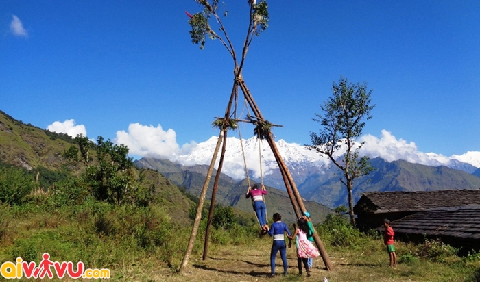 Du lịch Kathmandu mùa thu