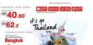 Chỉ từ 40 USD/1 chiều, thỏa thích rong chơi hết mình ở Thái lan
