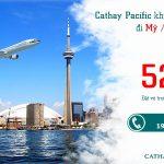Có Cathay mùa thu này bay Bắc Mỹ không tốn chi phí