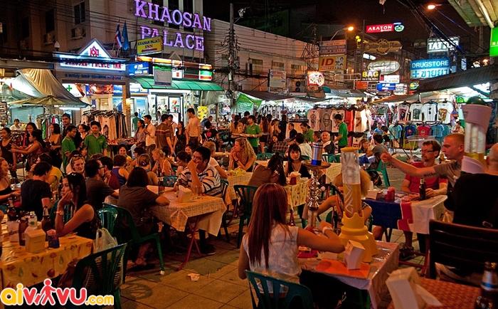 Khám phá ẩm thực chợ đêm Thái lan