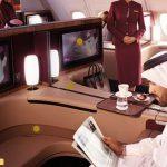 Bay đẳng cấp, tiết kiệm không ngờ tới 35% hạng ghế Business của Qatar