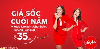 bay thần tốc với Air Asia chỉ từ 36 USD