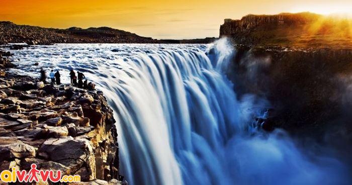 Thác nước Detiffos đẹp nhất xứ Iceland