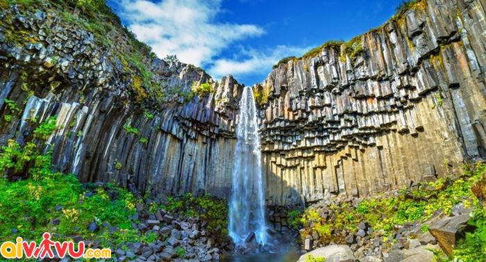 Svartifoss là một kiệt tác về nghệ thuật của thiên nhiên