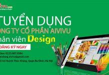 Tuyển dụng Nhân viên thiết kế Đồ Họa - Tuyển dụng AIVIVU