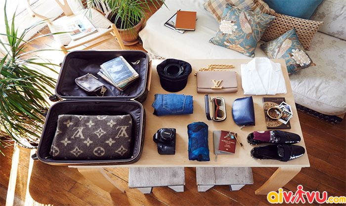Không mang hành lý đi quá nhiều