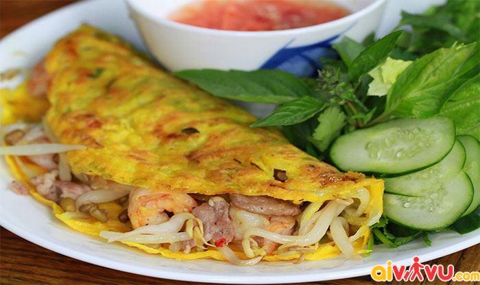 Ăn bánh xèo chuẩn vị Đà Nẵng tại Nguyễn Công Trứ